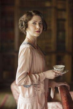 Spoil Alert:   Mabel Lane Fox (Catherine Steadman).
