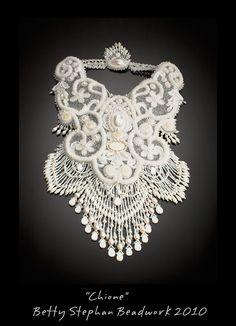 Betty Stephan Handbeaded Jewelry- one of a kind statement pieces