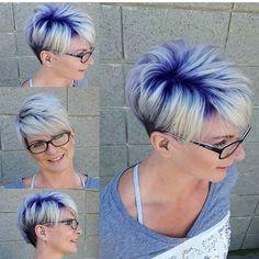 Gib Deinen Haaren mehr Farbe! 10 tolle farbenfreudige Kurzhaarschnitte! - Neue Frisur