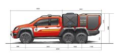 Van Racking Systems, Firefighter Equipment, Expedition Truck, Vw Amarok, Fire Equipment, Rescue Vehicles, Aircraft Design, Emergency Vehicles, Fire Engine