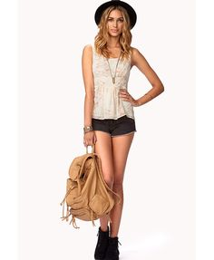 Whimsical Blossom Georgette Tank £16.75