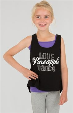 8eb3c658ab0d1 GIRLS LOVE DOUBLE LAYER VEST We have added a touch of sparkle to this  double layer