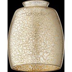 "Quorum 2.25"" Glass Bowl Pendant Shade | Wayfair Supply"