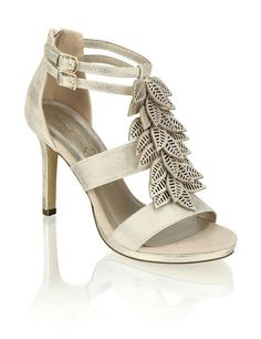 Cate Grey Humanic Spring Fever, Sunnies, Sandals, Gold, Shoes, Fashion, Accessories, Chic, Women's