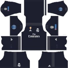 Real MadridUEFA Badge Kits 2018/2019 Dream League Soccer