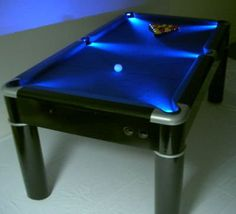 Put leds on my pool table ledlighting pooltable billards by 497 aurora pool eightg 400364 pixels keyboard keysfo Images
