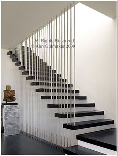Stairs with bars