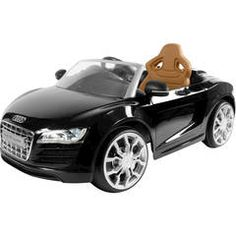 RollPlay Audi R8 Spyder 6-Volt Battery-Powered Ride-On - Walmart.com