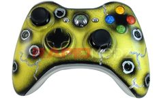 """RapidModz.com design team has been busy coming up with fantastic new ideas for our controllers as of late. The newest creation is our """"Bullet Cracked"""" Xbox 360 Rapid Fire Modded Controllers. Check it out TODAY! Here is the link for the video: http://www.youtube.com/watch?v=ucD1UBwJURI=share=UUT0Ms5zD3HajSGh_un9pr_g"""