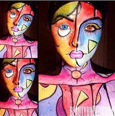 Abstract Makeup :: Beauty by Dehsonae #makeup #nyx #beautybydehsonae