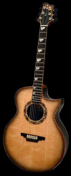 boutique acoustic guitar