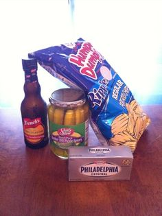 Pickle Dip. I do not use worcestershire sauce.  this is especially awesome with salt n vinegar chips!