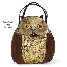 Owl Hand/Shoulder Bag - Women's Clothing & Symbolic Jewelry – Sexy, Fantasy…