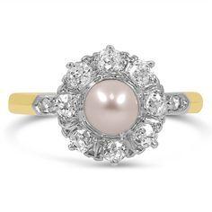 art deco pearl ring - Recherche Google