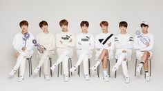 """Let's all wear white shirts and not tell Yoongi"""