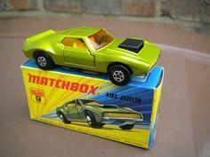 AMX JAVELIN Matchbox Superfast 1 - 75 No. 9..DE 1972 AL 79..APERTURA DE PUERTAS,UNO DE MIS GRANDES FAVORITOS