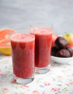 Beetroot Juice recipes, from Clairejustineoxox
