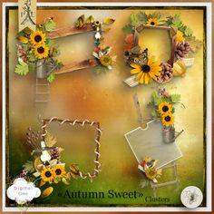 Autumn Sweet de Tif Scrap - clusters
