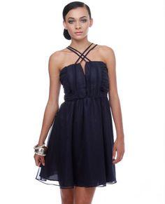 $49 Deep Blue Sea Navy Blue Dress