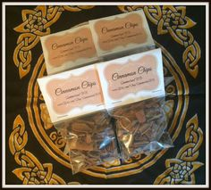 """Cinnamon Chips Magickal Herb ~ Spirituality ~ Success ~ Love ~ Luck ~ Incense ~ Spells ~ Wicca ~ Witch ~ Pagan ~ 3"""" x 3"""" Bag by SummerlandBB on Etsy"""