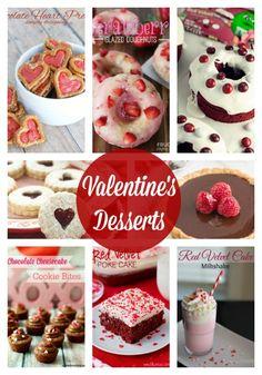 Love these Valentine's Desserts