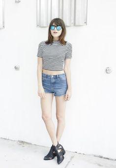 Rima Vaidila: Tomboy-Chic Fashion Style: Glam Radar waysify