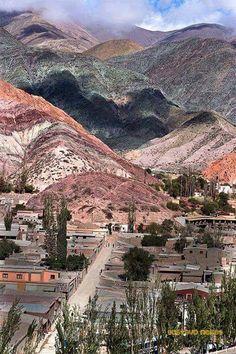 Purmamarca un pueblo de Jujuy ... Argentina  AMERICA DEL SUR