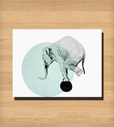 Elephant Print by Selina_fashion
