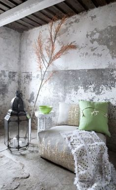 Rustic vibes with a Moroccan charm.