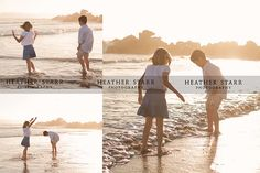 sunset fun- family picture ideas @Jessica Szabo i want to do this guess we gotta go to the beach for family pics :)