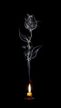 Heat of Passion . A Rose 想像。 Arte Obscura, Smoke Art, Pics Art, Dark Art, Fantasy Art, Cool Art, Art Drawings, Art Photography, Light Painting Photography