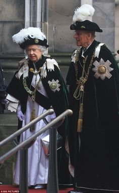 The Queen and Prince Philip are also members of the Order of the Thistle, an order of chivalry unique to Scotland
