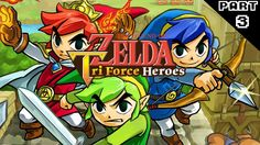 The Legend of Zelda: Tri Force Heroes Part 3 - Weaponized Water