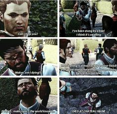 """Maker, am I dying?"" Funny Hawke is best Hawke."