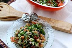 Quinoa and Chickpea Salad with Lime and Cilantro [Vegan] | One Green Planet