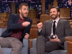 WATCH: Chris Evans and Brother Scott Recall Funniest Childhood Moments | Advocate.com  Chris's reaction, seriously so funny