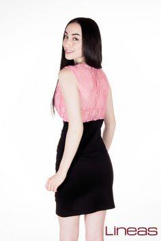Vestido. Modelo 17565. Precio $220 MXN #Lineas #outfit #moda #tendencia #2014 #ropa #prendas #estilo #outfit #primavera #vestido