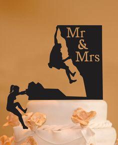 ideas for wedding couple silhouette mr mrs Rock Climbing Cake, Silhouette Wedding Cake, Couple Silhouette, Rose Gold Centerpiece, Destination Wedding, Wedding Planning, Mr And Mrs Wedding, Custom Cake Toppers, Wedding Cake Toppers