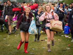 On Your Marks - get your spot, get drunk, get high, get loved up, get lost, get wet and muddy (actually not this year as it happens!), get happy, get inspired - get ready for Glastonbury 2013.