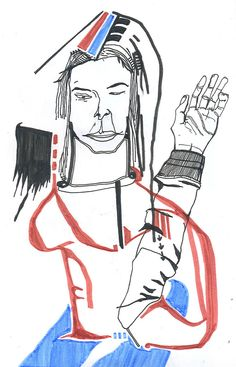 https://flic.kr/p/6eUmVn | ''Maybedite'' - 2006 | ''Maybedite''. Sketchbook drawing. 2006