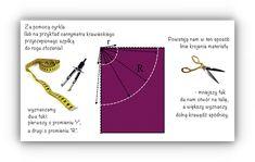 spódnica z koła szycie Sewing, Fashion, Simple Lines, Moda, Dressmaking, Couture, Fashion Styles, Stitching, Sew