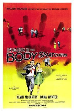 1956 original INVASION of the BODY snatchers movie poster SCI-FI rare 24X36 - Vintage art print series listings are reproductions of original vintage art prints. Print may show fold marks, tears, stains and blurry text and graphics from reproduction of aged original vintage art print. Great wall decor art print at a fraction of the cost of an original art... - read more . . . Re-pin