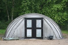 Concrete Canvas Shelter by Amplified Concrete Solutions Global