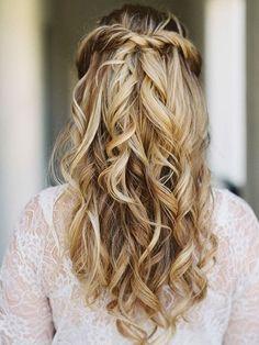 Do the twist wedding hair #waves #weddinghair                                                                                                                                                                                 More