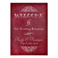 Wedding Chalkboard(A4) Value Poster Paper (Matte)