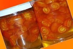 Dulceata din Coji de Portocala | Bucataresele Vesele Romanian Food, Jamie Oliver, Preserves, Pickles, Jelly, Cake Recipes, Deserts, Food And Drink, Pudding