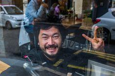 #StreetPortrait Of Pierre Sang #Paris11 Cook Chief #PierreSangRestaurant Oberkampf © Camille Gabarra #photo #portrait