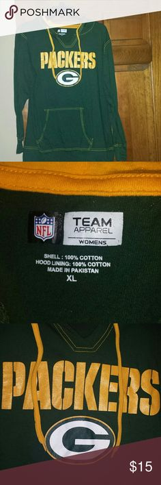 Women's Green Bay Packers G-III 4Her by Carl Banks Power Play III T-Shirt - Gold