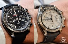 """Omega Speedmaster """"Dark Side of the Moon"""" and the new """"Lunar Dust"""""""