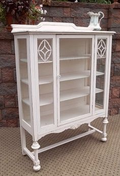 Reproduction Cabinets Faithful 1860s Amoire With Glass Doors Factory Direct Selling Price